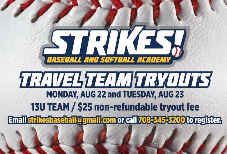 STRIKES Travel Team Tryouts